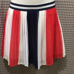 Disney red, white and blue skirt XL